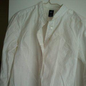 Ruffle trim Gap Cotton Shirt XS/0